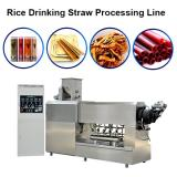 Edible Eco Friendly 100-150kg/H Best Quality Rice Making Drinking Straw Machine Pasta Straw Extruder