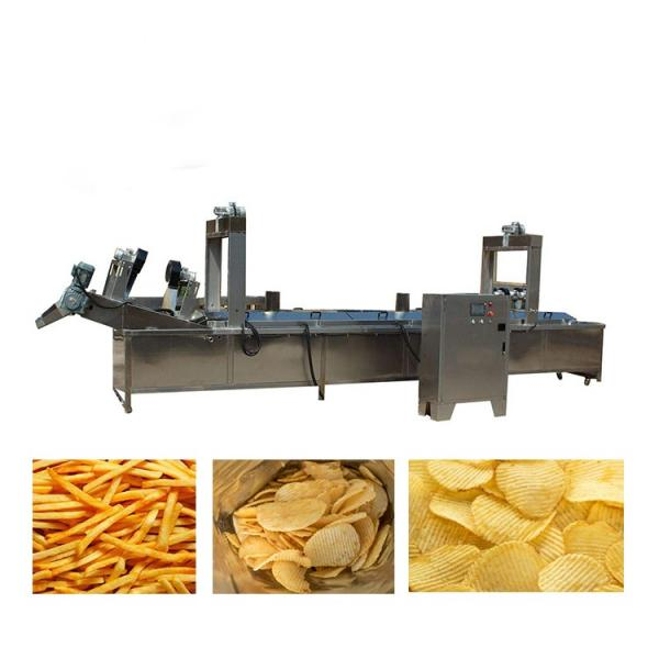 Kh Ce Approved Small Scale Potato Chips Making Machine #2 image