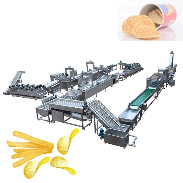 Hot Selling Automatic Small Scale Potato Chip Maker Machine Potato Chips Making Machine Potato Chips Production Line #1 image