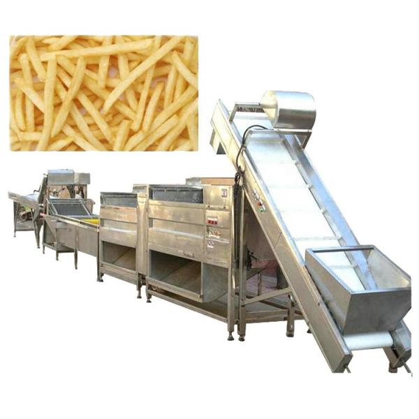 Hot Selling Automatic Small Scale Potato Chip Maker Machine Potato Chips Making Machine Potato Chips Production Line #3 image