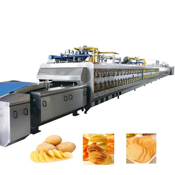 Kh Ce Approved Small Scale Potato Chips Making Machine #3 image