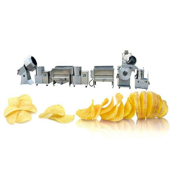 Kh Ce Approved Small Scale Potato Chips Making Machine #1 image