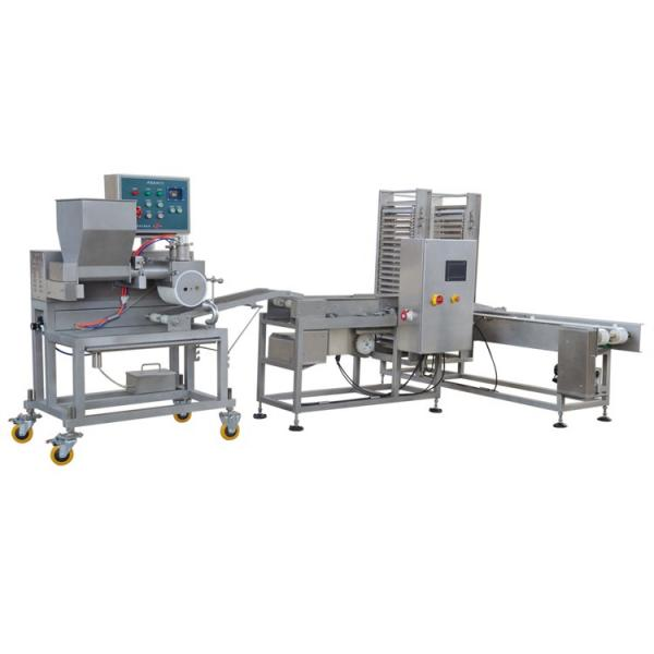 High Efficiency Commercial Automatic Hamburger Burger Patty Making Forming Machine #1 image