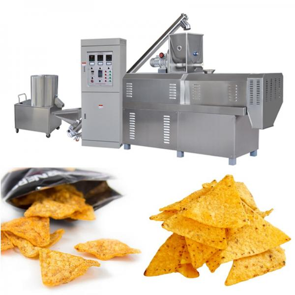 Puff Corn Snack Food Extruder Corn Tortilla Chips Making Machine #1 image