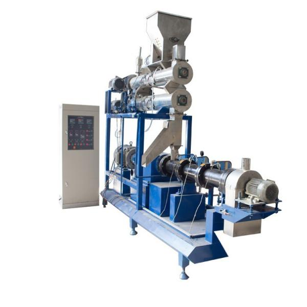 Factory Price Floating Sinking Aquatic Feed Machine Freshwater Fish Feed Extruder Feed Pellet Granulator Production Line #1 image