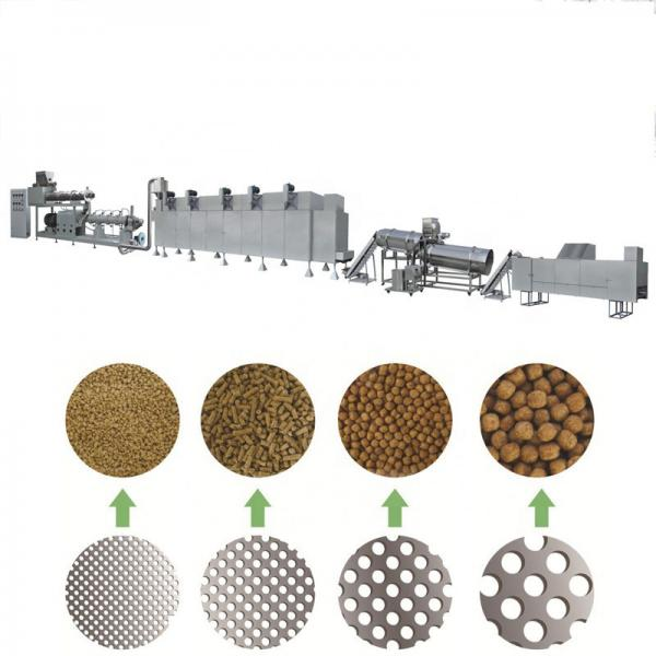 Animal Feed Machine of Cow Sheep Dog Cat Fox Floating Fish Feed Pellet Food Making Machine Feed Pellet Mill Cattle Sheep Pig Food Feed Machine Extruder #1 image