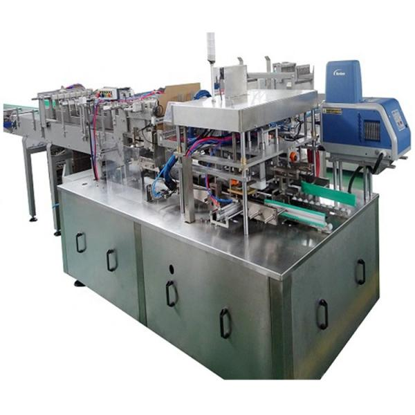New Table Type Round Bottle Labeling Machine Full Wrap Round Sticker Labelling Packaging Machine Automatic Filling Capping Labeling Packing Machine Applicator #1 image